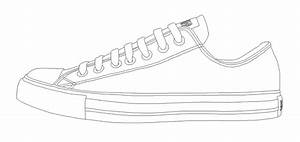 converse all star low template by katus nemcu on deviantart With adidas shoe template