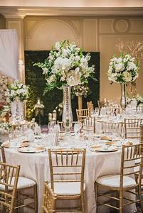 White Gold Champagne Green Wedding At The Houstonian