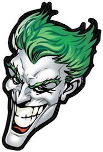 joker head sticker  images joker superhero