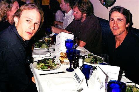 Heath Ledger Christian Bale Double Omg