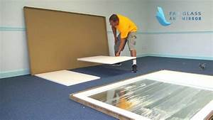 Gym Mirror installation Step by Step from Fab Glass and ...