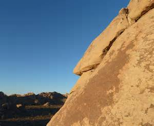 Desert Joshua Tree Rock