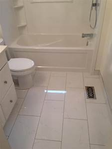 12 x 24 ceramic tile for the floor white cabinet tub With 12x24 tiles in bathroom