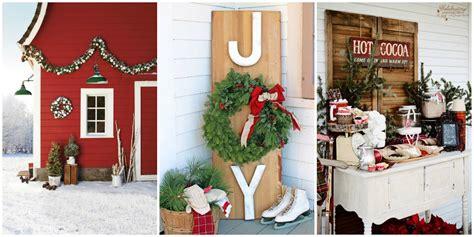 Weihnachtlich Dekorieren Aussen by 34 Outdoor Decorations Ideas For Outside
