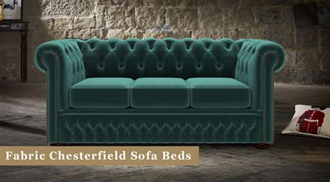 fabric chesterfield sofa beds timeless chesterfields