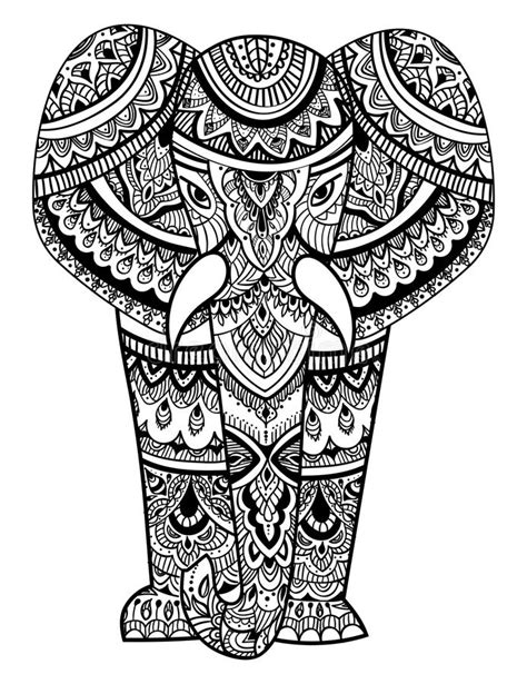 All contents are released under creative commons cc0. Mandala Elephant Head Svg Printable - Free Layered SVG Files