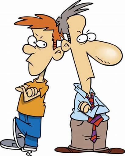 Clipart Parent Teenager Parents Trouble Teenage Arguing
