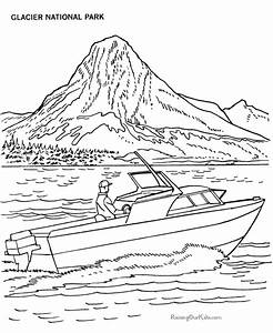 Lake #44 (Nature) – Printable coloring pages