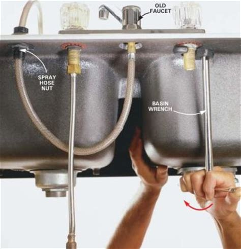 how do you install a kitchen faucet remove kitchen faucet faucets reviews