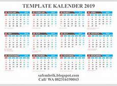 Kalender 2019 indonesia 2018 Calendar printable for Free