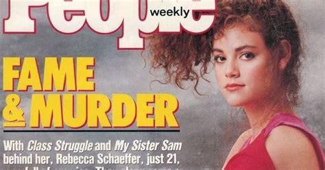 los angeles morgue files rebecca schaeffer murdered