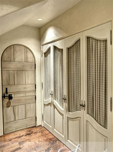 home dzine bedrooms dress  closet doors  fabric
