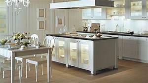 Photo De Cuisine : concevoir une cuisine avec lot central ~ Premium-room.com Idées de Décoration