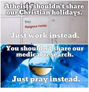 Atheistsshouldn't Share Our Christian Holidays THU ...
