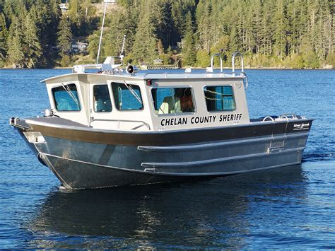 Used Fishing Boat With Cabin by 32 Salish Aluminum Cabin Boat By Silver Streak Boats