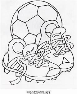 Petit But De Foot : coloriage ballon de foot ~ Melissatoandfro.com Idées de Décoration