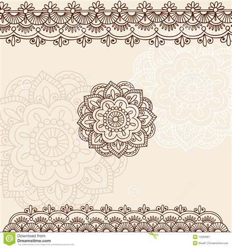 henna mehndi paisley doodle vector design stock vector illustration of illustration flower