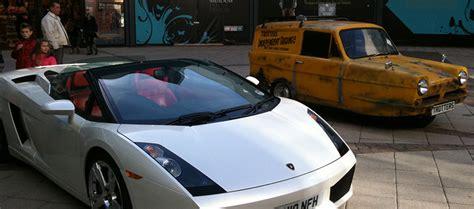 Supercar Hire For Filming In The Uk Ferrari Aston Martin