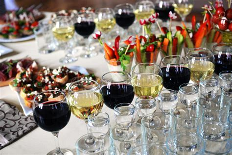 luxurious food buffet stock photo image