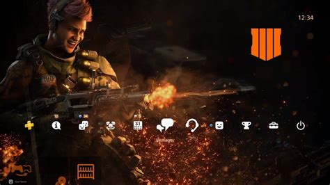 free call of duty black ops 4 ps4 theme part of launch event countdown bonuses