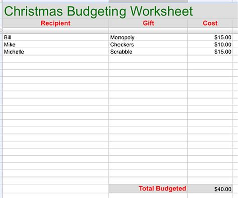 7 Free Printable Budgeting Worksheets