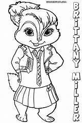 Chipettes Coloring Pages Colorings sketch template