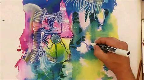 Maremagnum Dibujo y pintura Freestyle Técnicas mixtas