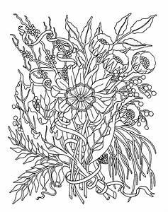 Jardin Dessin Couleur : la nature en coloriage jardin ~ Melissatoandfro.com Idées de Décoration