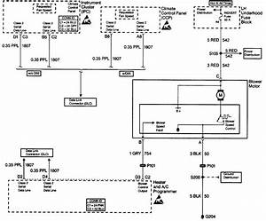 1988 Cadillac Blower Motor Wiring Diagram