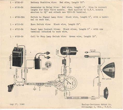 1948 harley panhead wiring diagram harley panhead