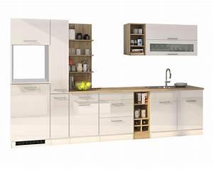 Küchenzeile Weiß Hochglanz : k chenzeile m nchen vario 3 k chen leerblock breite 330 cm hochglanz wei k che k chenzeilen ~ Indierocktalk.com Haus und Dekorationen