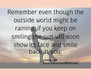 Happiness Quote... Sun And Smile Quotes