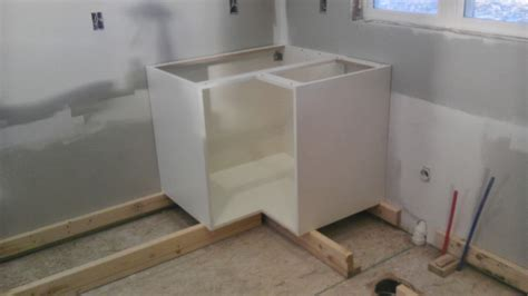 how to install base cabinets how to install base kitchen cabinets alkamedia com
