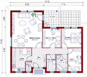 Grundrisse Für Bungalows 4 Zimmer : grundriss bungalow 3 zimmer ~ Sanjose-hotels-ca.com Haus und Dekorationen