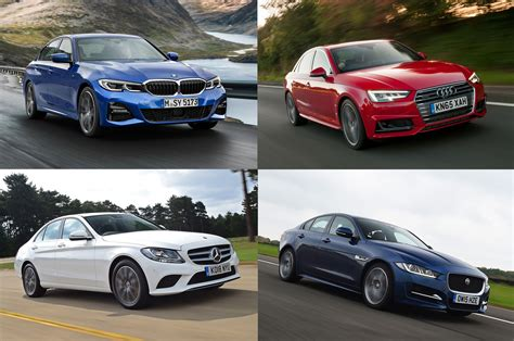 Bmw 3 Series Vs Audi A4 Vs Mercedes C-class Vs Jaguar Xe