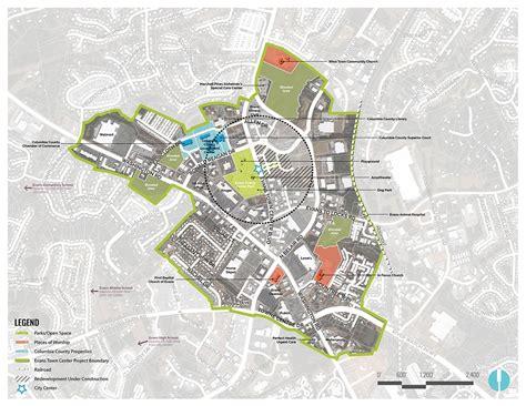 tsw evans town center urban design plan
