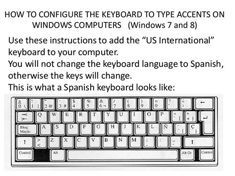 how to insert accents windows 7 windows 8