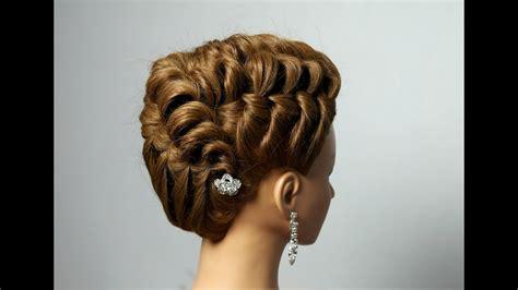 elegant hairstyle  long medium hair youtube
