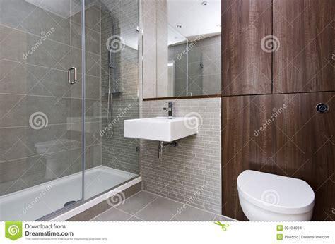 Modern Three Piece Bathroom Suite Stock Images   Image