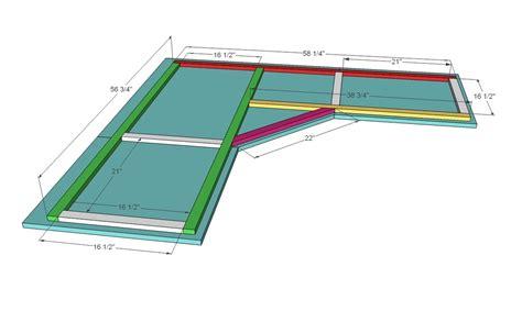 woodwork  corner desk plans  plans