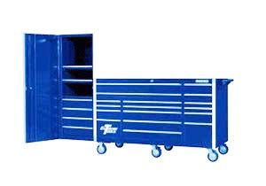 Blue Side Cabinet Tool Box by Ex7217rcl Rolling Tool Cabinet And Side Locker