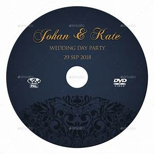 wedding dvd cover and dvd label template vol7 by With dvd sticker labels