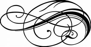 Free, Clipart, Of, A, Calligraphy, Design