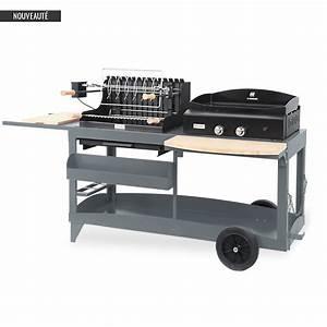 Plancha Ou Barbecue : ensemble grilloir et plancha mendy alde baia le marquier ~ Melissatoandfro.com Idées de Décoration
