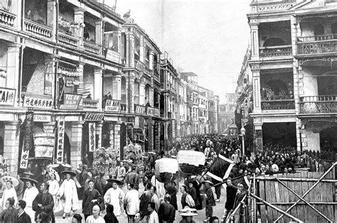 hong kong history timeline  century