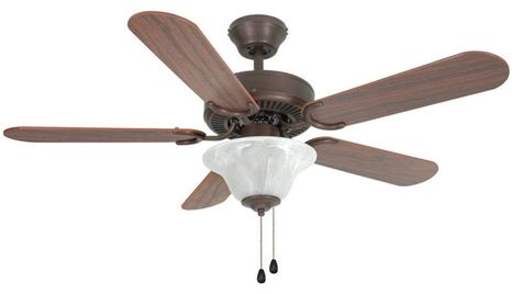 rubbed bronze 42 quot ceiling fan w light kit