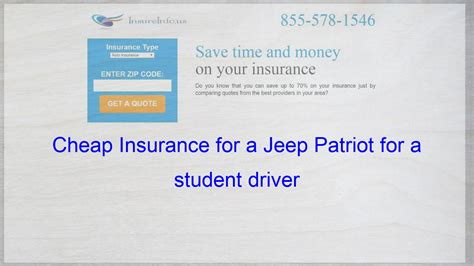 (this does not apply to limited lines agents). Pin on Cheap Insurance for a Jeep Patriot for a student driver