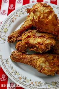 Traditional Southern Fried Chicken - I Heart Recipes  Fried