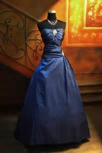 blue wedding gown royal blue a line wedding dress sang maestro