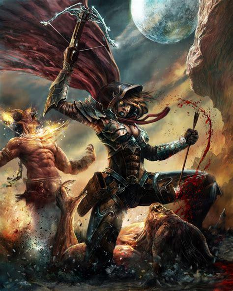 Demon Hunter Diablo 3 Fan Art By Cyrilt On Deviantart